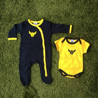 Twin Pack Sleepsuit & Bodysuit
