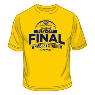 Wembley 2020 League One Play Off Final Junior Tee