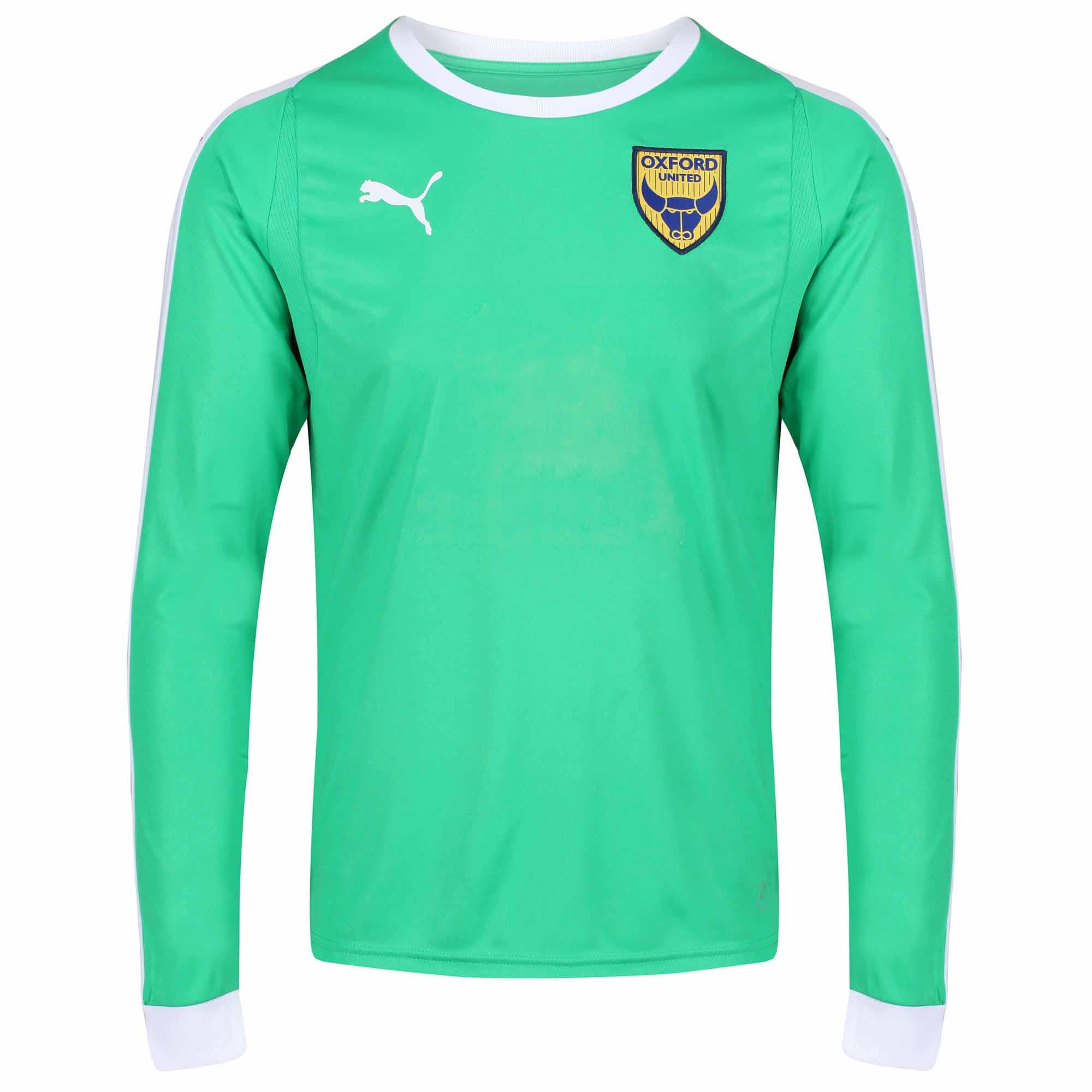 watch a3f7f 54e3d Junior Replica H Goalkeeper Shirt 2018/19