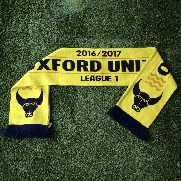 Oxford United 2016/2017 Scarf