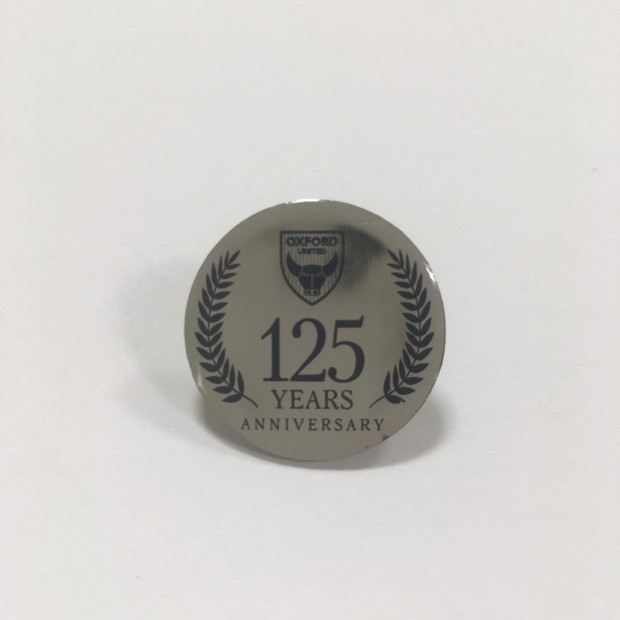 125 Anniversary Crest Pin Badge
