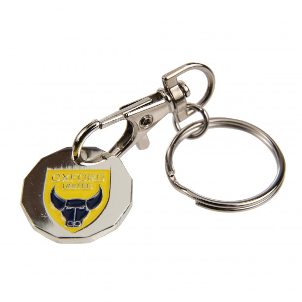 Trolly Coin Keyring